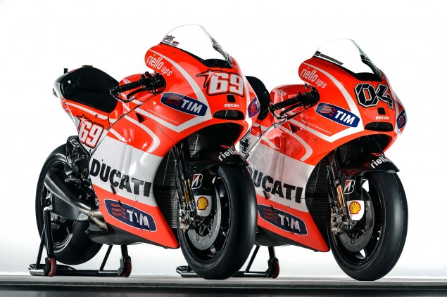 First Shots of the Ducati Desmosedici GP13 Nicky Hayden Andrea Dovizioso Ducati Desmosedici GP13 Wrooom 12 635x423