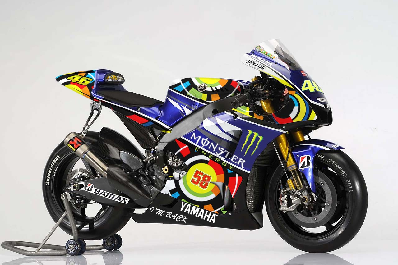 This is Not Rossis New Yamaha MotoGP Livery Valentino Rossi Yamaha