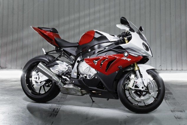 BMW Motorrad USA Says Sales Were Up 14% in 2012 bmw s1000rr garage 635x423