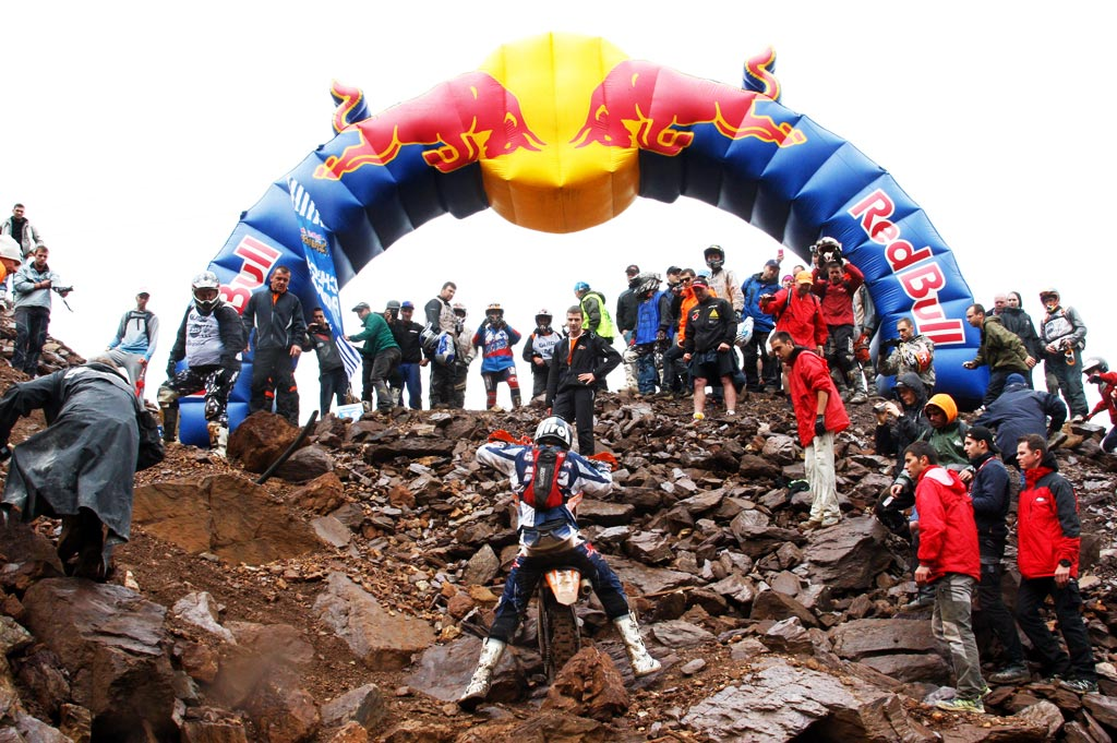 Motorcyclings Most Grueling Single Day Race? red bull hare scramble erzberg rodeo