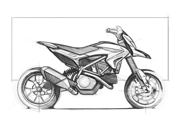 2013 Ducati Hypermotard Mega Gallery 2013 Ducati Hypermotard design 05 635x448