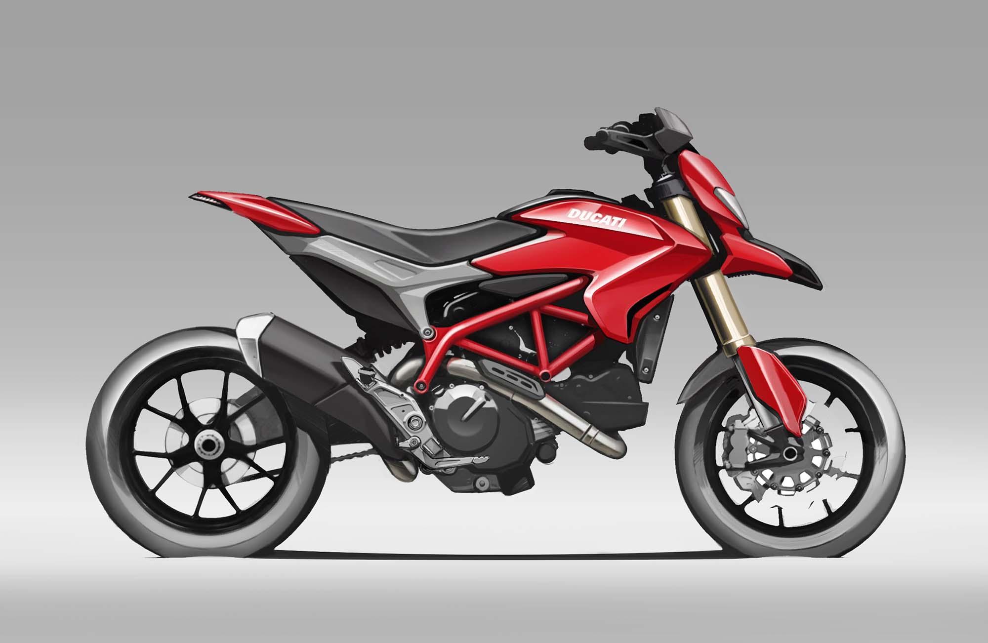 2013 Ducati Hypermotard Mega Gallery 2013 Ducati Hypermotard design 09 ...