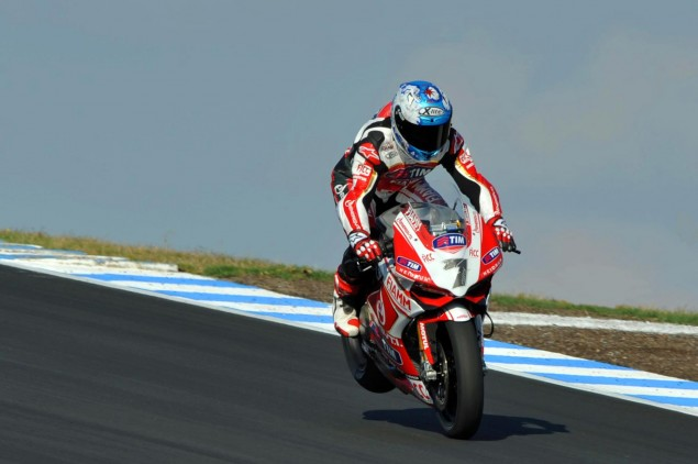 2013 WSBK Official Phillip Island Test Day 1 Times: Camier Impresses ahead of Haslam Carlos Checa enduo Phillip Island WSBK Ducati Alstare 635x422
