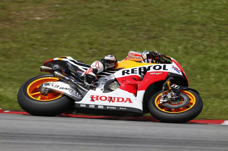 MotoGP Sepang 2 Test Day 1: Pedrosa is Fastest, While Bradl Impresses Dani Pedrosa Sepang MotoGP test