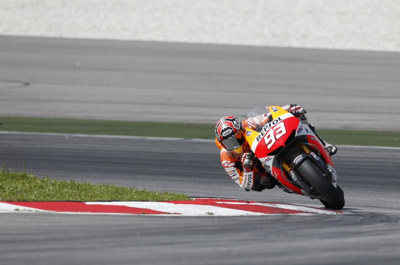 MotoGPs Sepang Test: Joy, Determination, & Despair Marc Marquez Repsol Honda HRC MotoGP Sepang Test