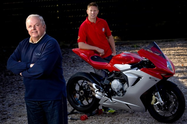 MV Agusta Returns to the Isle of Man TT, in Proper MV Agusta Isle of Man TT Jack Valentine Gary Johnson ValMoto 635x423