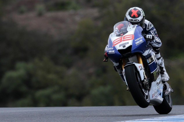 Jerez MotoGP Test – Monday Round Up jorge lorenzo motogp yamaha racing jerez test 635x423