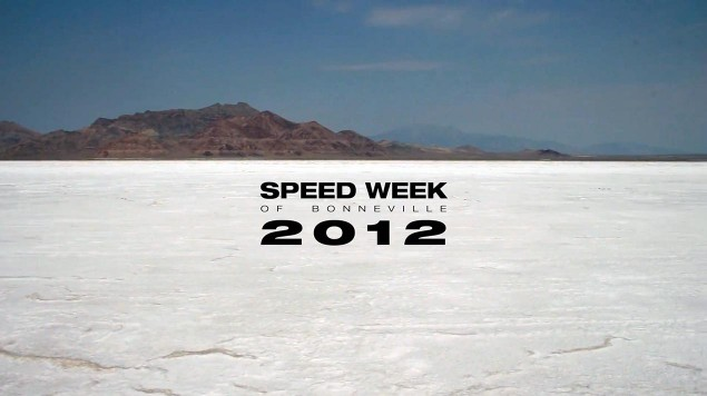 Video: Speed Week at Bonneville 2012 speed week bonneville 2012 635x356
