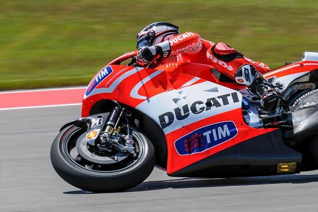 Up Close with the Ducati Desmosedici GP13 2013 Desmosedici GP13 COTA MotoGP 18 635x423