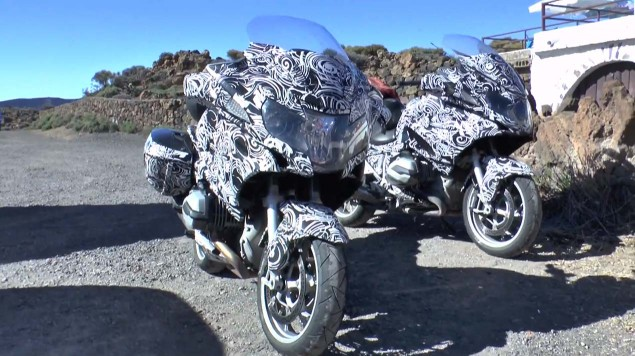 Spy Video: BMW R1200GT 2014 BMW R1200GT spy photo 05 635x356