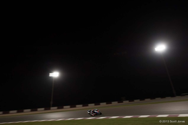 Friday Summary at Qatar: Qualifying Heats, Rain in the Desert, & the Race Pace Friday Qatar GP MotoGP Scott Jones 08 635x422