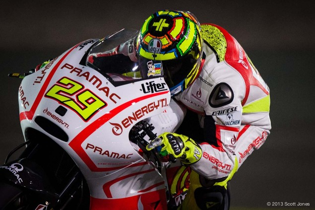 SF: Could Andrea Iannone Be at Your Next Track Day? Friday Qatar GP MotoGP Scott Jones 13 635x423