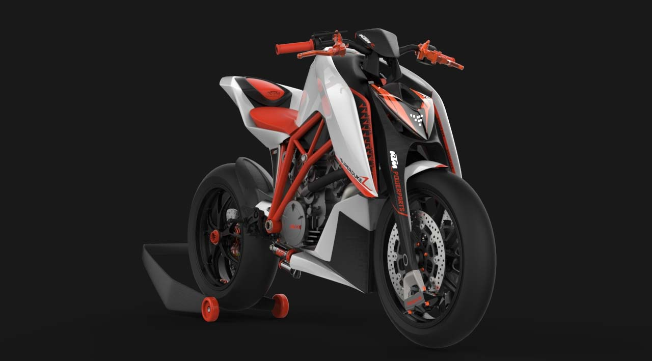 ktm super duke 1290r concept by mirco sapio asphalt rubber. Black Bedroom Furniture Sets. Home Design Ideas