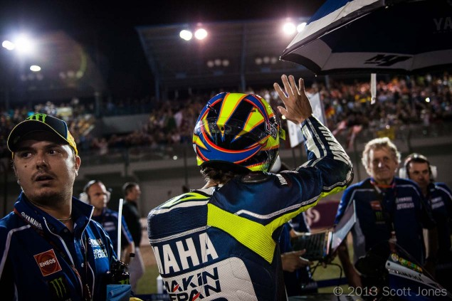 Trackside Tuesday: The Story Begins Scott Jones MotoGP Qatar Valentino Rossi Grid 635x423