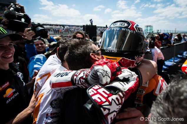 Marc Marquez Breaks Freddie Spencers Record  Becomes the Youngest Person to Win a MotoGP/500cc Class Race marc marquez youngest motogp win scott jones 635x422