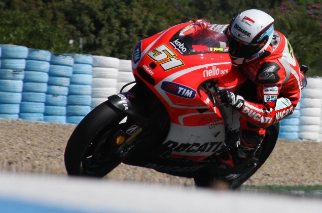 MotoGP: Michele Pirro Will Replace Ben Spies at Jerez   Ducati Desmosedici GP13 Development Bike to Debut michele pirro ducati desmosedici gp13 development 635x421