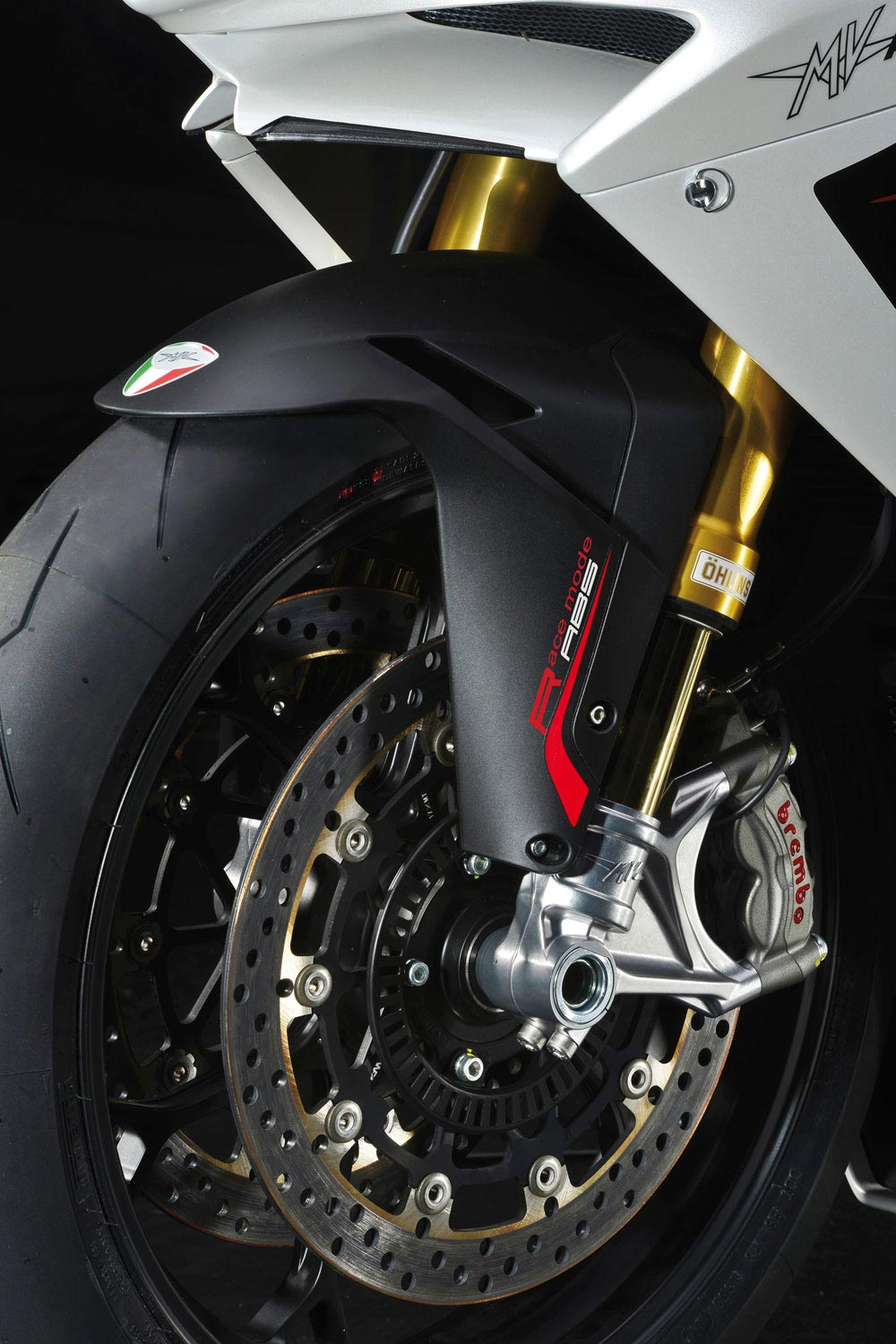 MV Agusta F4 Gets ABS for 2013 mv augusta f4 rr bosch abs
