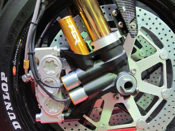 Is Norton Using Semi Active Suspension for the IOMTT? norton tt racer semi active suspension