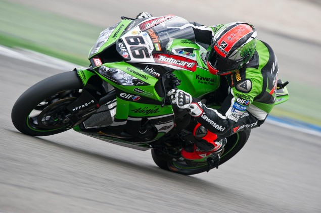 WSBK: Race Results for Race 1 at Assen tom sykes race 1 assen wsbk kawasaki racing 635x422