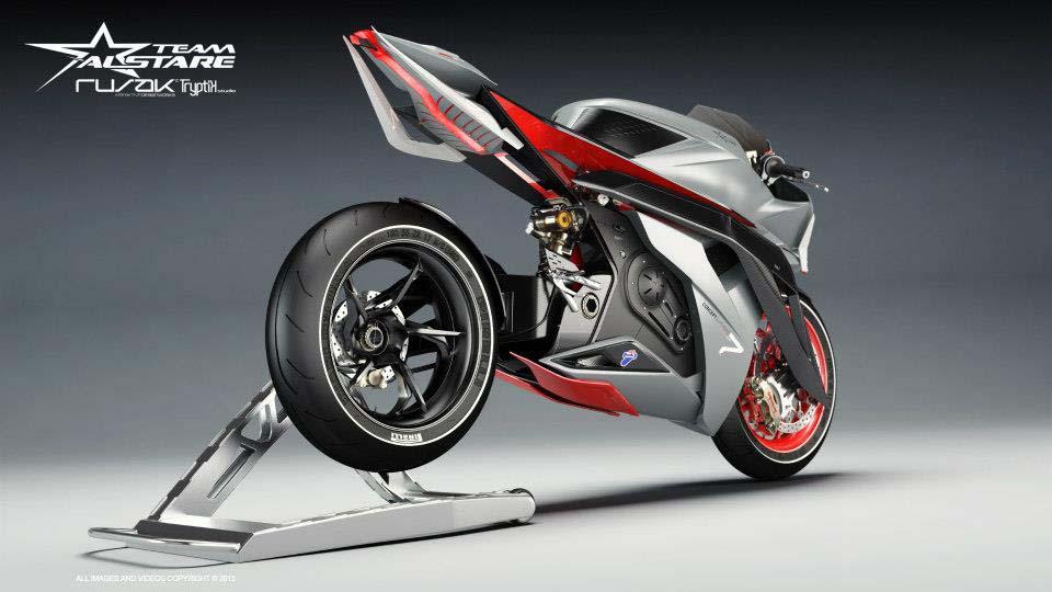 Alstare Superbike Concept by Team Alstare Alstare Superbike Concept Rusak Tryptik 06