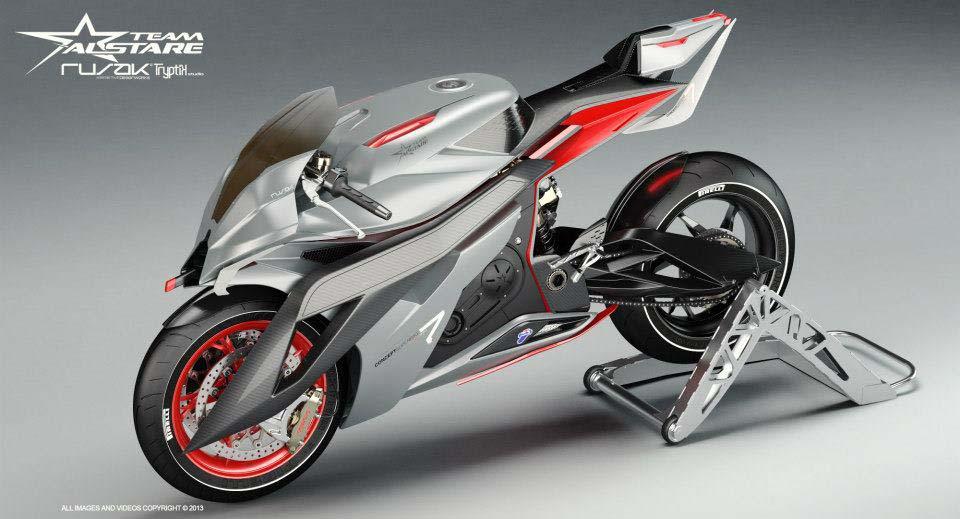 Alstare Superbike Concept by Team Alstare Alstare Superbike Concept Rusak Tryptik 09