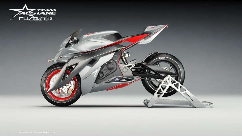 Alstare Superbike Concept by Team Alstare Alstare Superbike Concept Rusak Tryptik 10