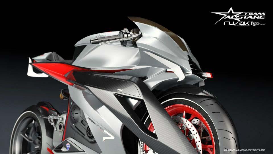 Alstare Superbike Concept by Team Alstare Alstare Superbike Concept Rusak Tryptik 11