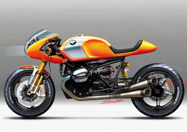 BMW Concept Ninety   Retro Meets Modern BMW Concept Ninety sketches 02 635x448