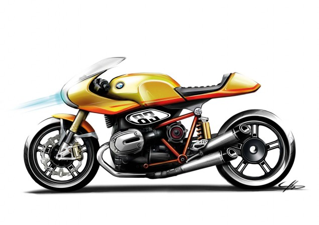 BMW Concept Ninety   Retro Meets Modern BMW Concept Ninety sketches 03 635x448