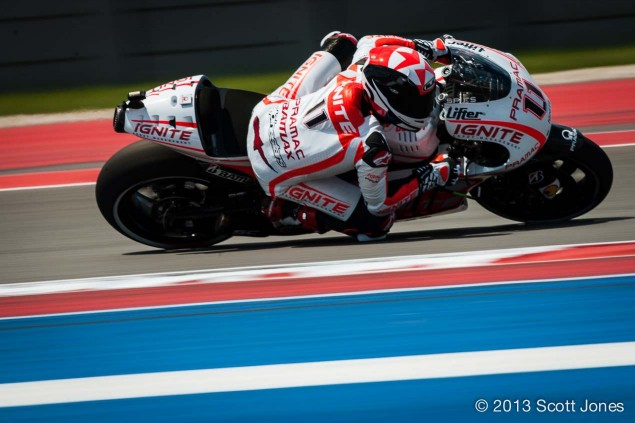 MotoGP: Ben Spies Will Miss the French GP Ben Spies MotoGP COTA Scott Jones 635x423