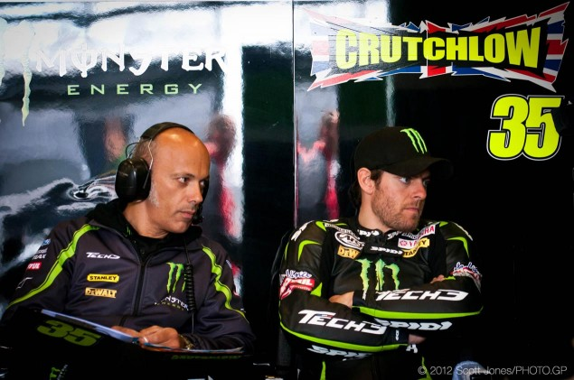 Thursday Summary at Mugello: Rossis Challenge, Crutchlows Ultimatum, & Sport as Soap Opera Cal Crutchlow MotoGP Monster Yamaha Tech 3 Scott Jones 635x421
