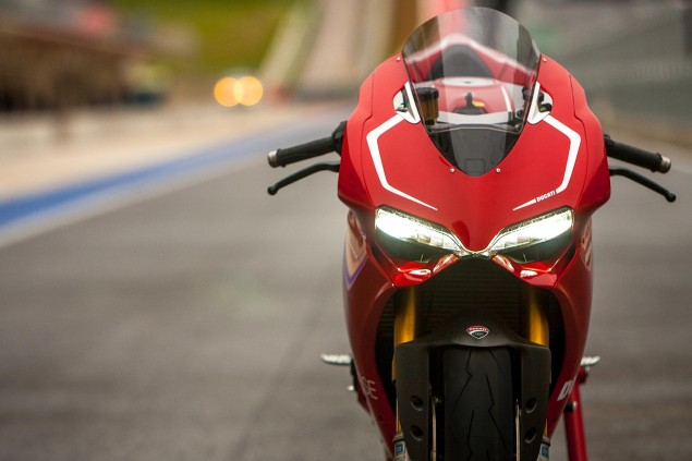 Ducati Q1 2013 Sales Drop 5%   Audi Dishes the Details Ducati 1199 Panigale R COTA 635x423