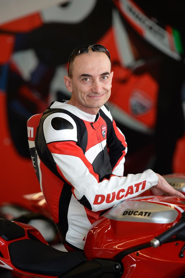 Q&A: Claudio Domenicali Talks Frameless Chassis, Sacred Cows, & The Future for Ducati claudio domenicali 635x954