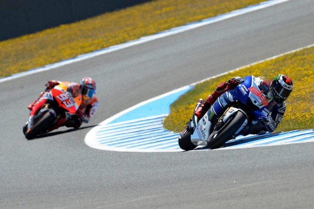 MotoGP: Reactions to the Last Corner Incident at Jerez jorge lorenzo marc marquz motogp jerez 635x423