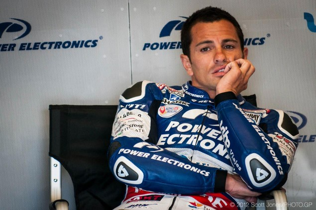 MotoGP: Randy de Puniet Testing with Suzuki in Japan randy de puniet motogp aspar scott jones 635x422