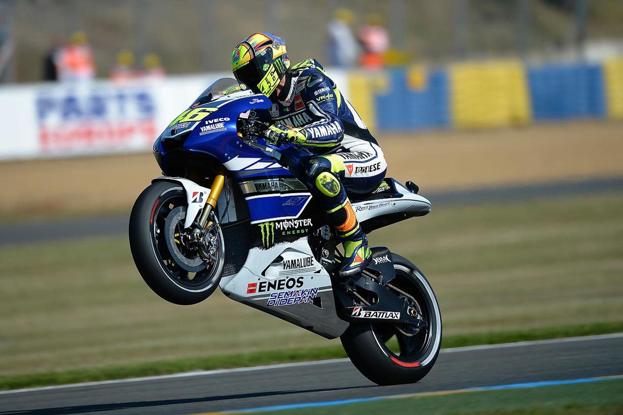 Friday Summary at Le Mans: Of Four Fast Men, Improved ... Race Bike Photos 2013