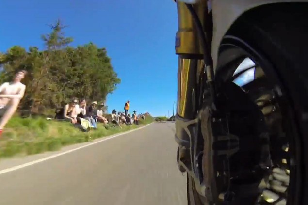 Video: Still Think Electric Motorcycles Are Slow? motoczysz michael rutter on board video tt zero 635x423