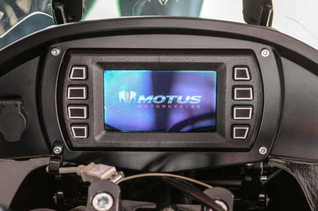 A Motorcycle Service Manual in Your Dash? A Look at the Motus MSTs All Glass Cockpit Motus Motorcycles MST R LCD dash 02 635x423