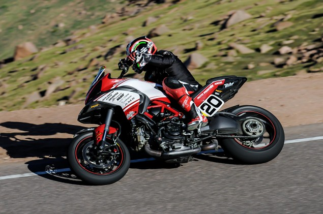 2013 Pikes Peak International Hill Climb Motorcycle Results bruno langlois ducati pikes peak international hill climb 635x421