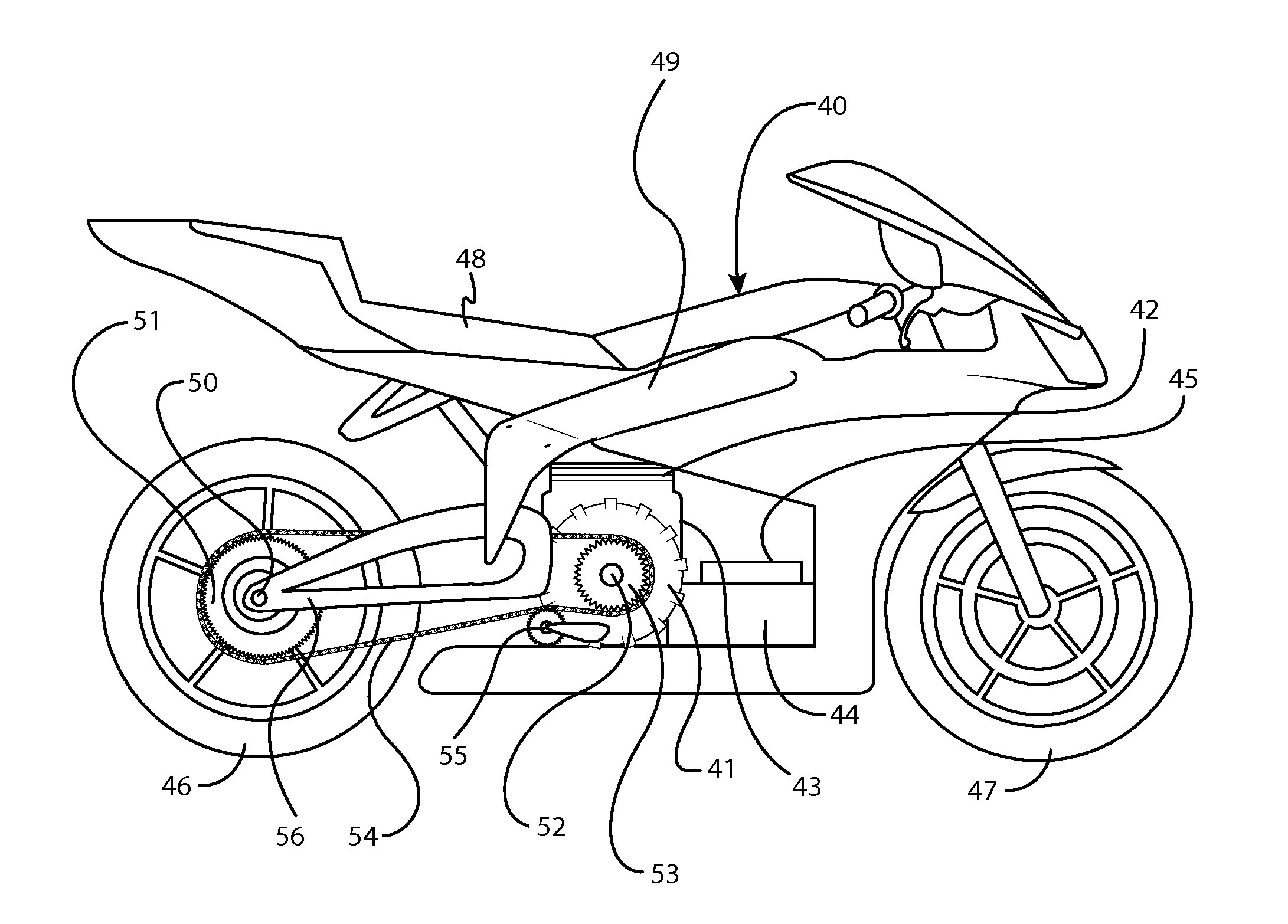 Erik Buell Racing Patents Hybrid Motorcycle Design