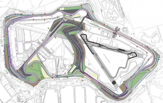 Preview of Silverstone: Of Home Winners, Historic Domination, & Stopping a Rookie silverstone circuit track map 635x401