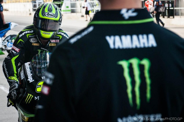 MotoGP: Tech 3 Will Continue as a Yamaha Satellite Team cal crutchlow monster yamaha tech 3 scott jones 635x423