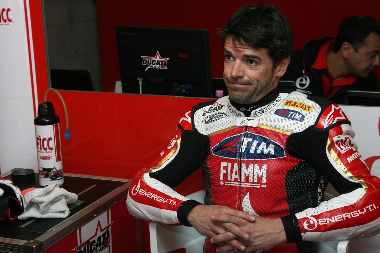 WSBK: Carlos Checa Sitting out the Rest of the 2013 Season carlos checa ducati alstare wsbk 635x423