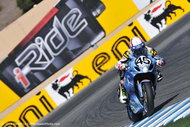 WSBK: Friday at Laguna Seca with Daniel Lo wsbk launga seca friday danny eslick