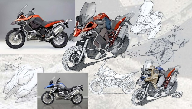 119 Hi Res Photos of the BMW R1200GS Adventure 2014 BMW R1200GS Adventure design 04 635x360