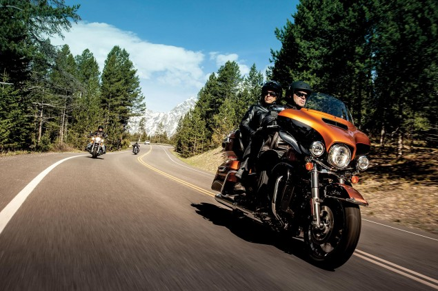 Harley Davidson Q3 Sales Up 20% in the US, 15% Abroad Harley Davidson FLHTK 635x423