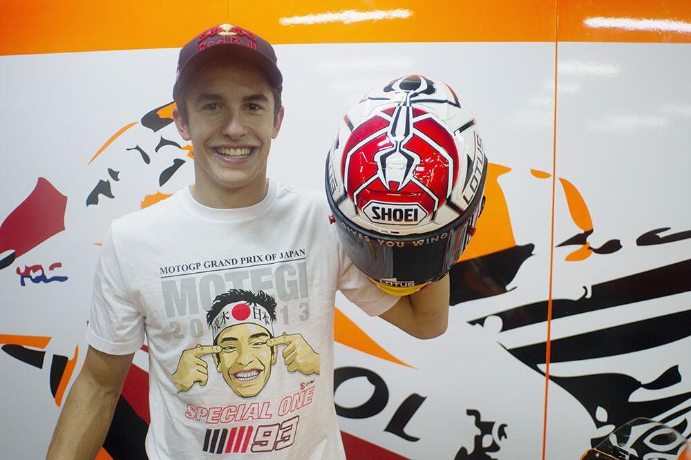 GP Motegi Marc-Marquez-Japanese