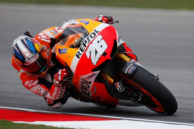 Friday Summary at Sepang: Pedrosas Speed, The Brain as a Complex Organ, & Honda Flying in Moto3 dani pedrosa motogp sepang repsol honda 635x423