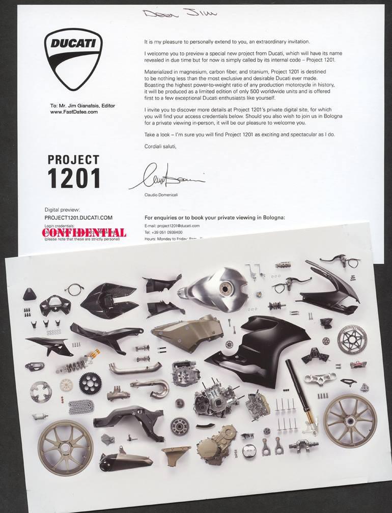 First Glimpse of the Ducati 1199 Panigale R Superleggera