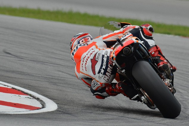 Saturday Summary at Sepang: Rain Spices Up Qualifying marc marquez motogp sepang repsol honda1 635x423